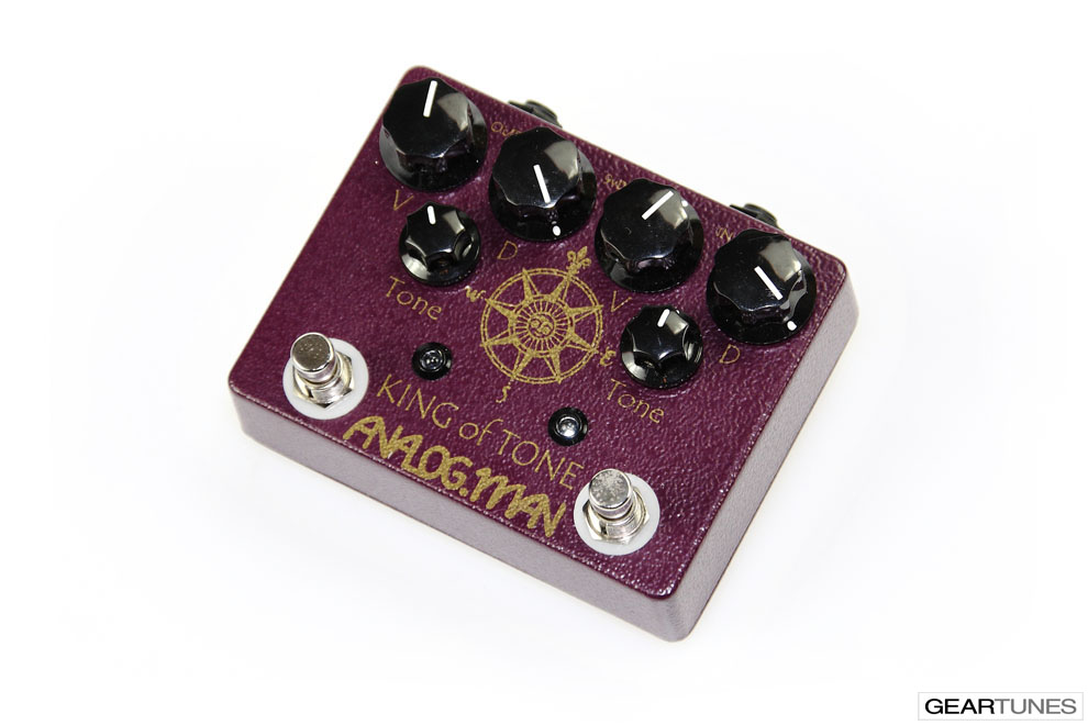 Effects Analog Man King of Tone 2