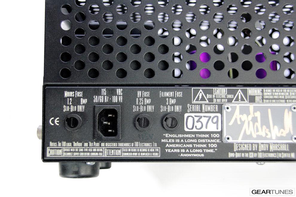 Tube Amps THD Univalve 7