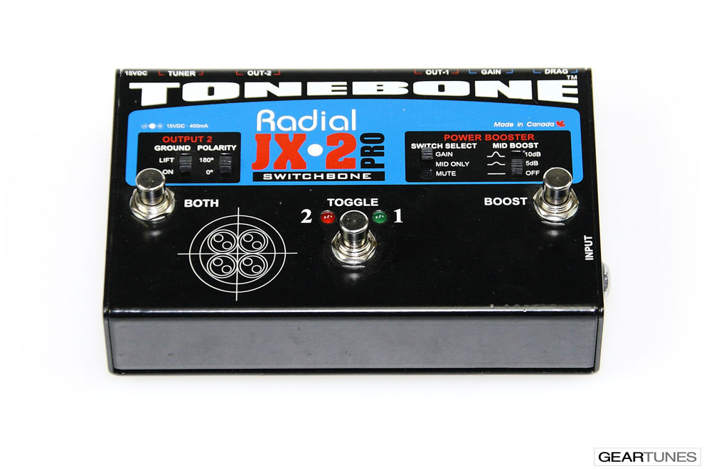 Switchers and Controllers Radial JX-2 Switchbone