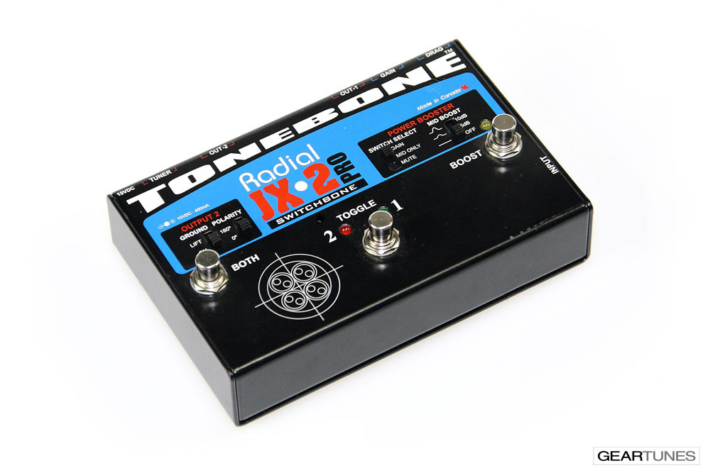 Switchers and Controllers Radial JX-2 Switchbone 3