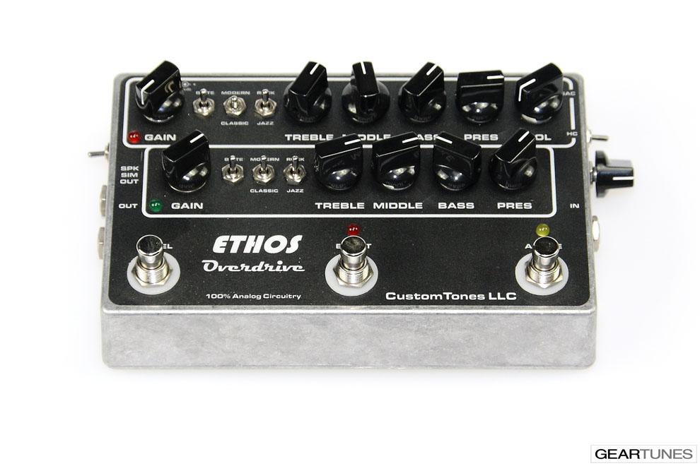 Amps Custom Tones Ethos Overdrive