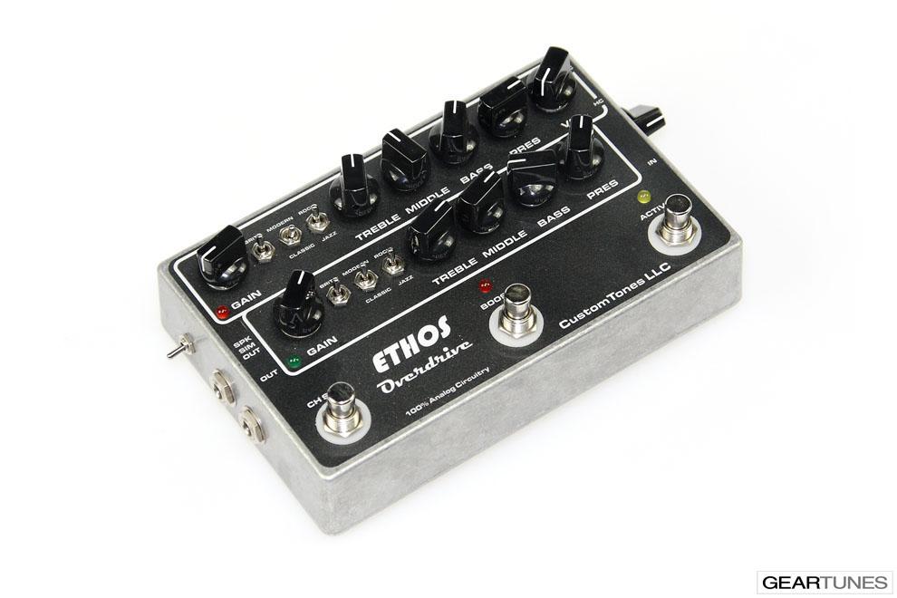 Amps Custom Tones Ethos Overdrive 3