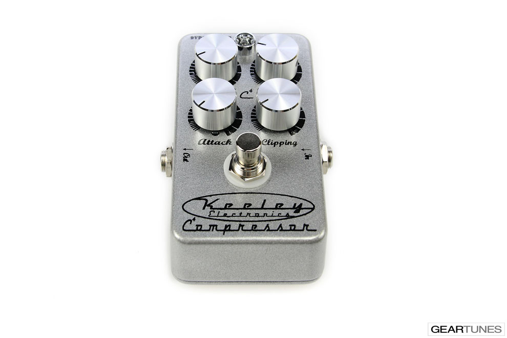 Compression and Sustain Keeley 4 Knob Compressor