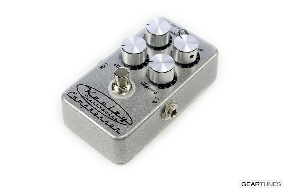 Compression and Sustain Keeley 4 Knob Compressor 2