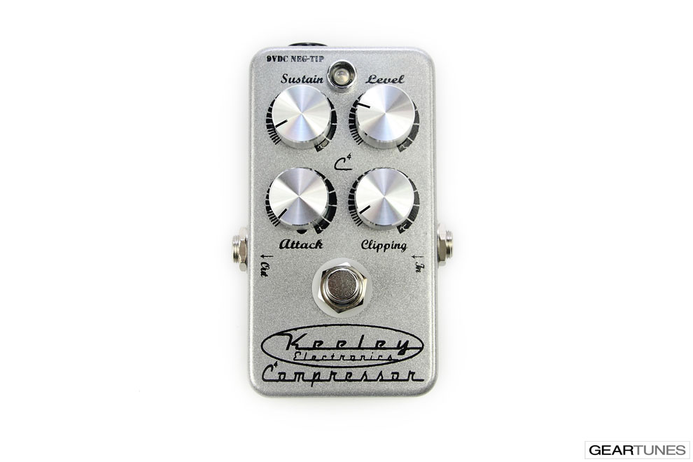 Compression and Sustain Keeley 4 Knob Compressor 4