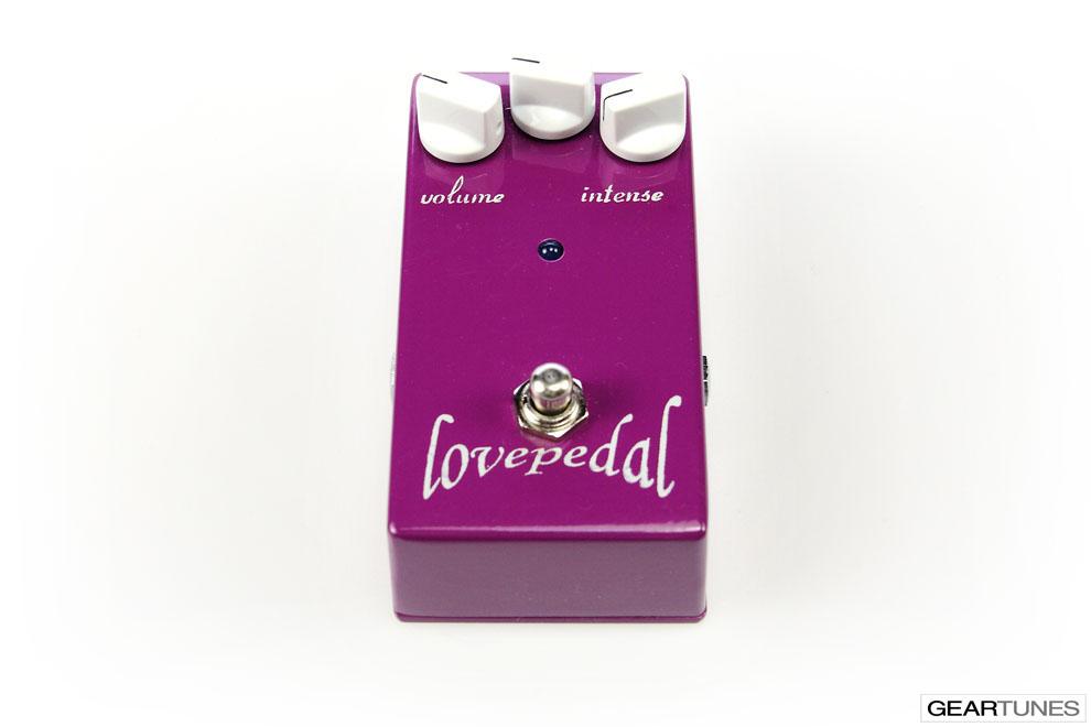 Distortion Lovepedal Purple Plexi