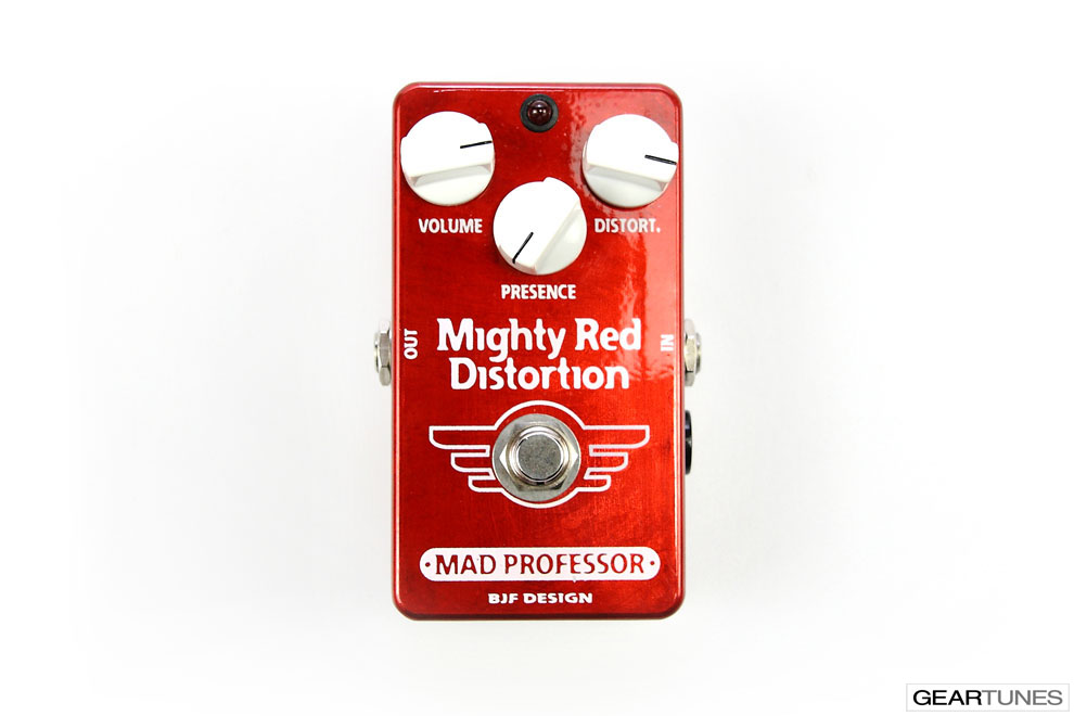 Distortion Mad Professor Mighty Red 4