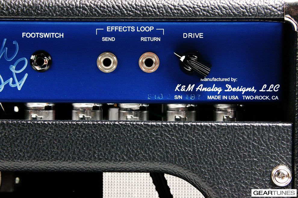 Heads Two-Rock Custom Reverb Signature 10