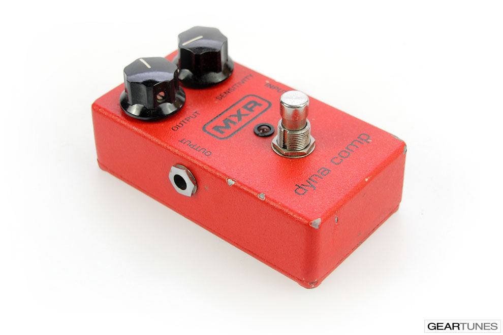 Compression and Sustain MXR Dyna Comp 3