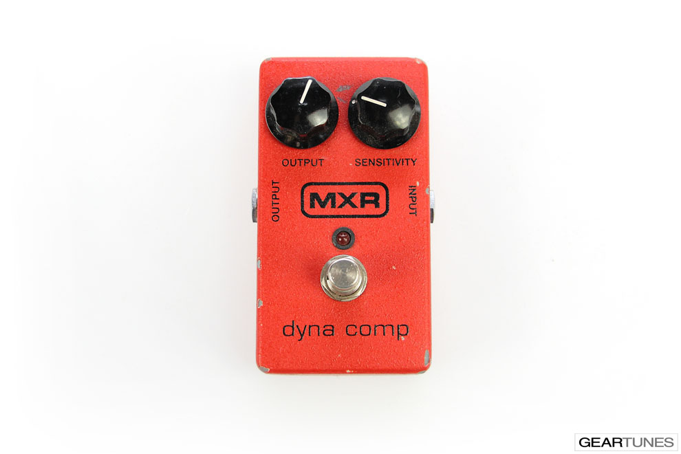 Compression and Sustain MXR Dyna Comp 4