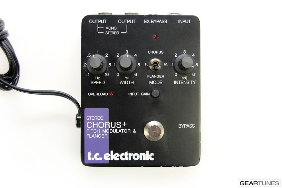 Flanger TC Electronic SCF Stereo Chorus Flanger 4