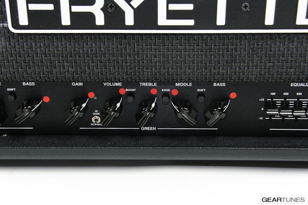 Amps Fryette Pittbull 100CL 5