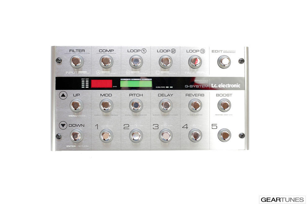 Multi-effects TC Electronic G-System 4