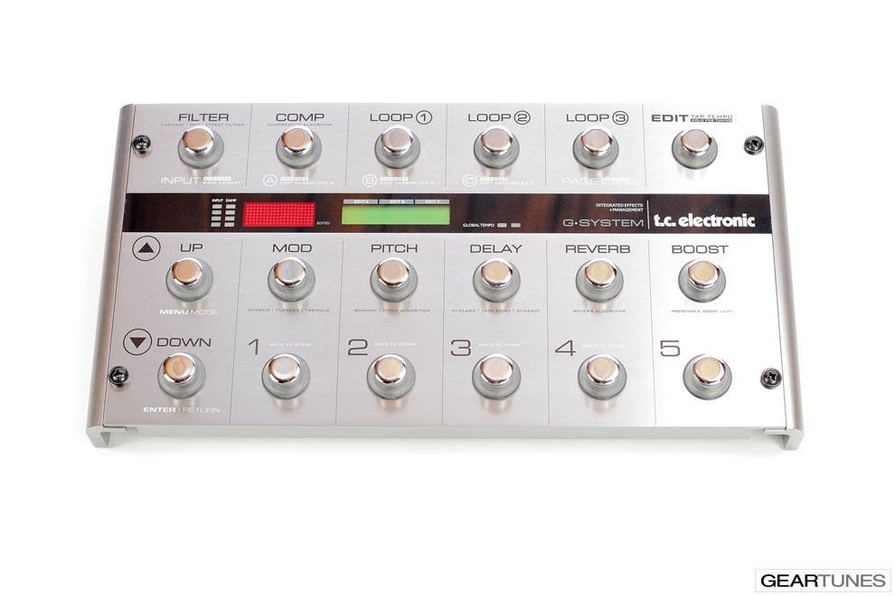 Multi-effects TC Electronic G-System