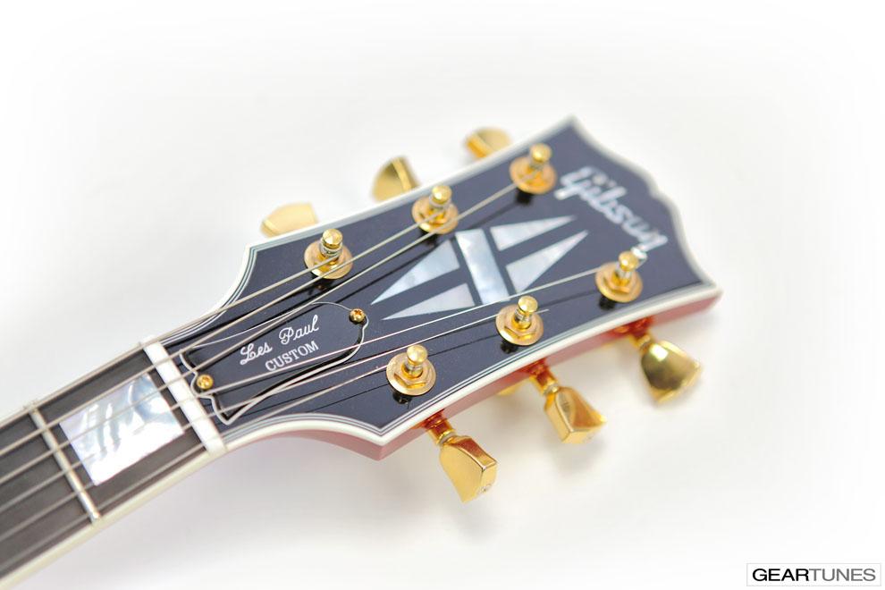 Guitars Gibson Les Paul Custom (Heritage Cherry Sunburst) 3