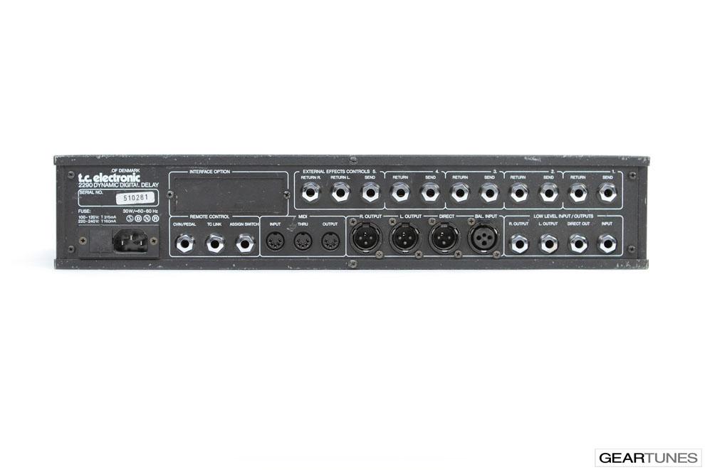 Multi-effects TC Electronic 2290 c.1990s 4
