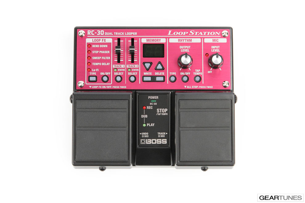 Looper Boss RC-30 Loop Station 4