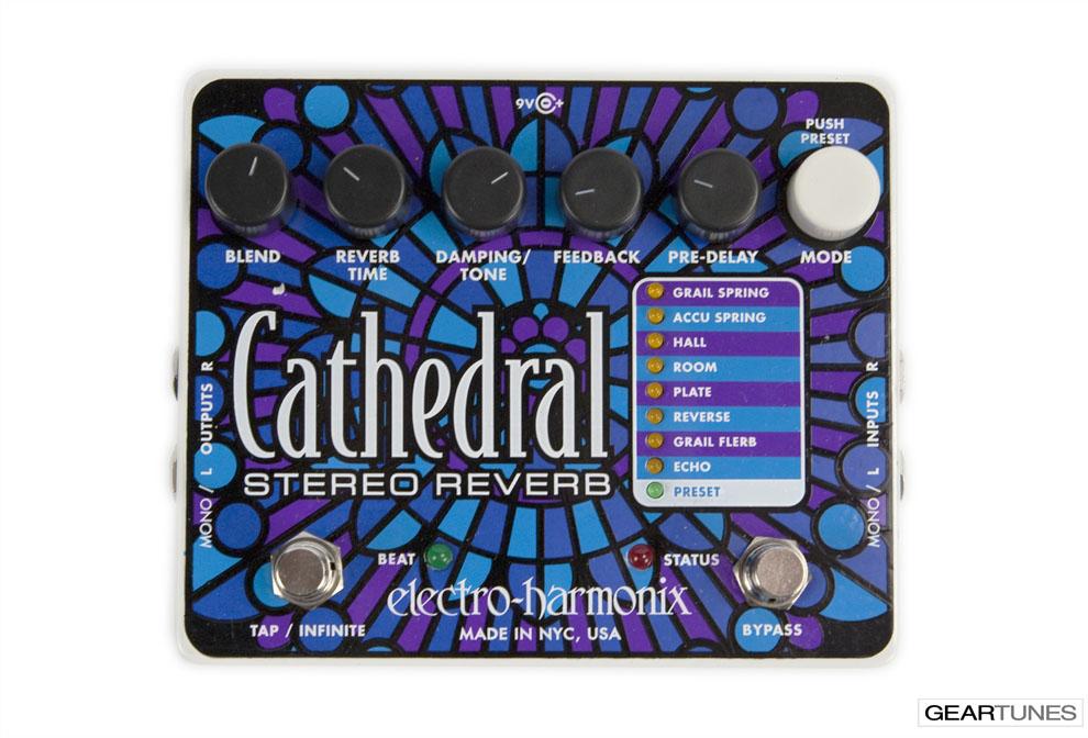 Reverb Electro-Hamonix Cathedral 4