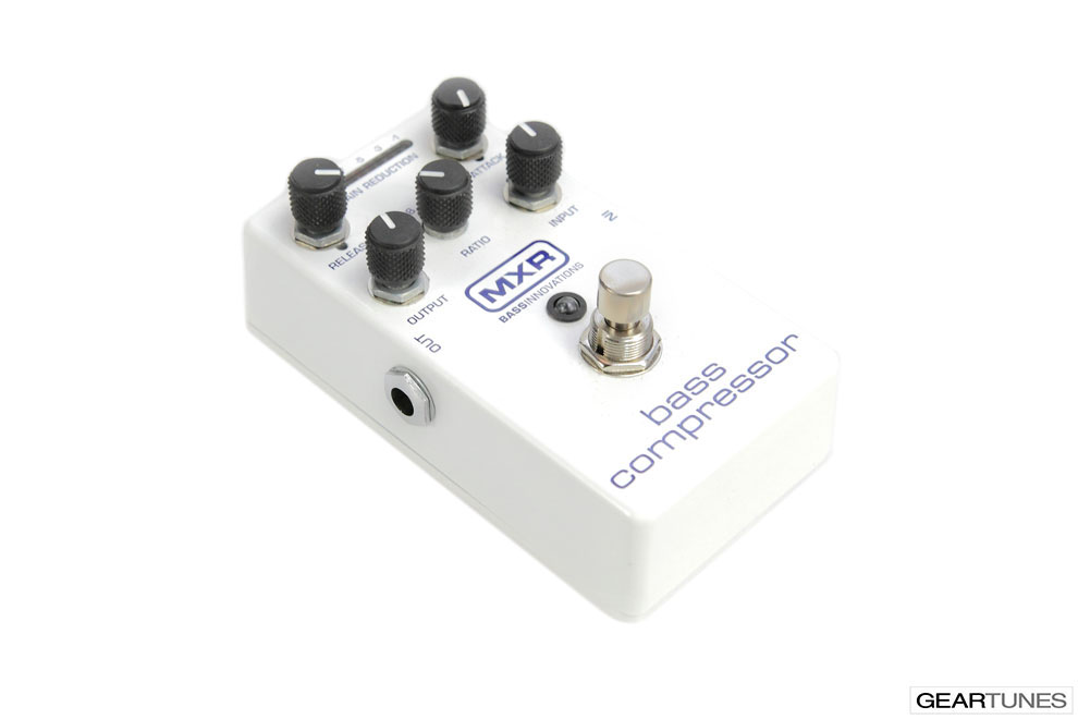 Compression and Sustain MXR Bass Compressor