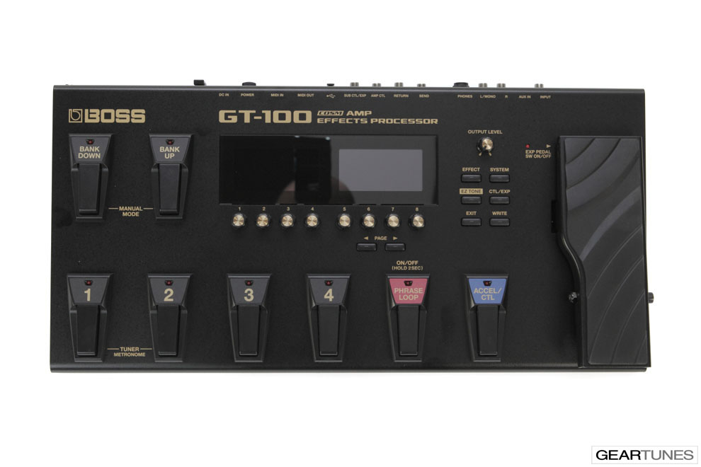 Multi-effects Boss GT-100 4
