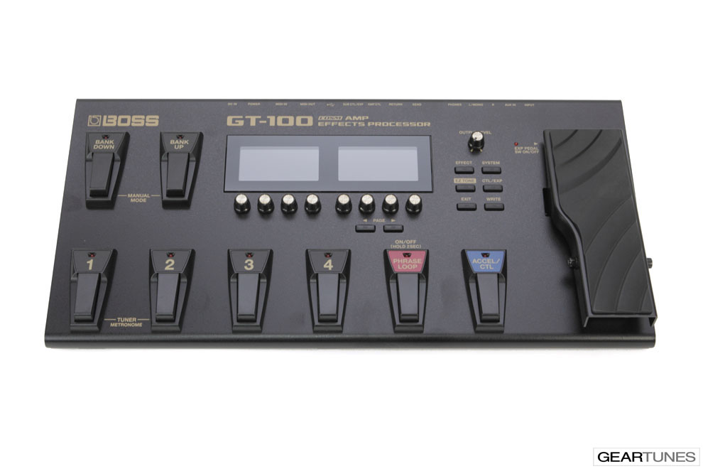 Multi-effects Boss GT-100