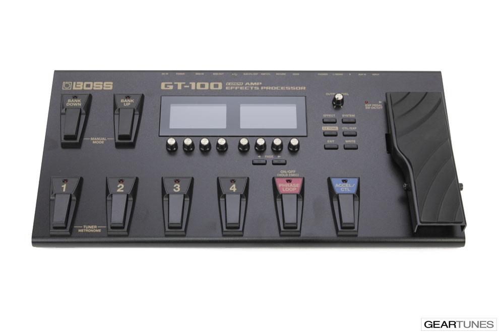 Effects Boss GT-100