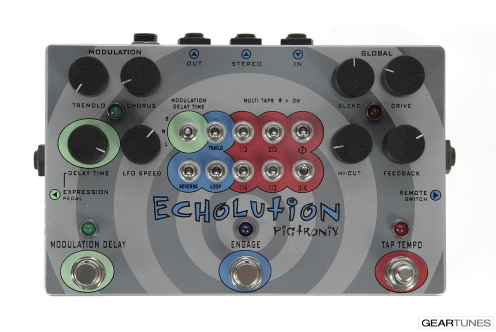 Delay Pigtronix Echolution 4