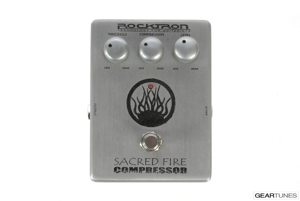 Compression and Sustain Rocktron Sacred Fire Compressor 4