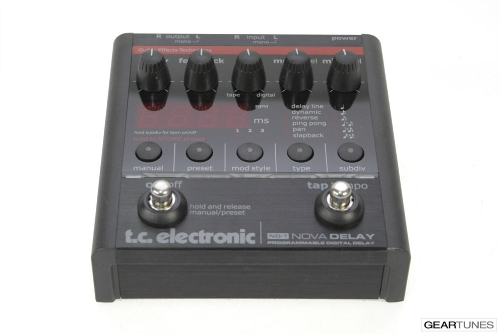 Delay TC Electronic Nova Delay ND-1