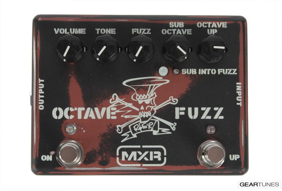Fuzz MXR Octave Fuzz 4