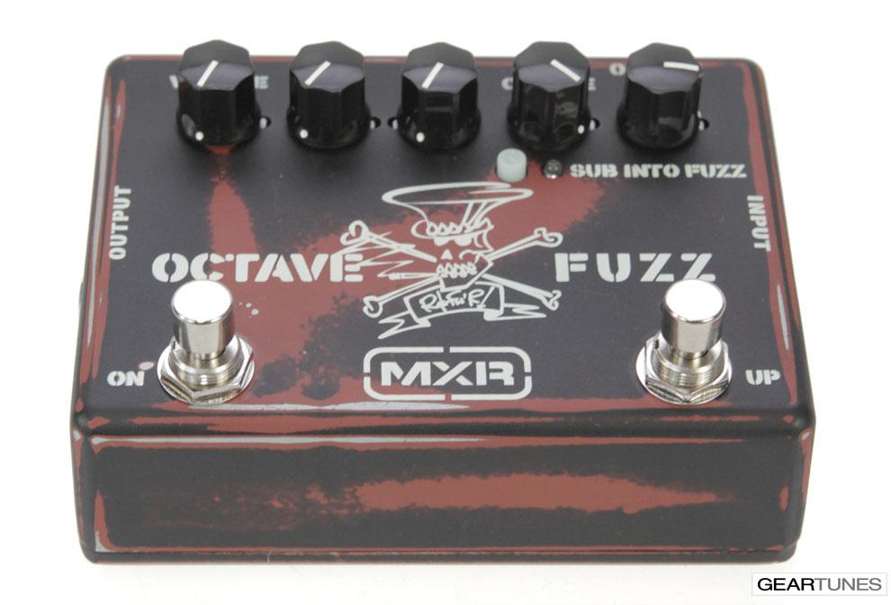 Fuzz MXR Octave Fuzz