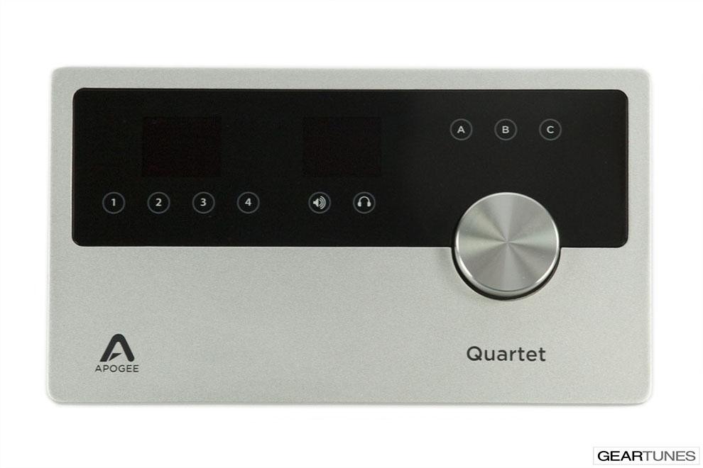 Recording Apogee Quartet 4