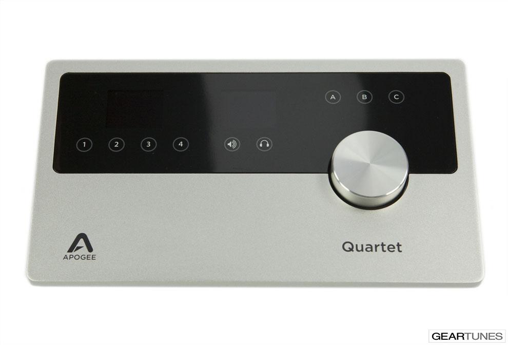 Recording Apogee Quartet