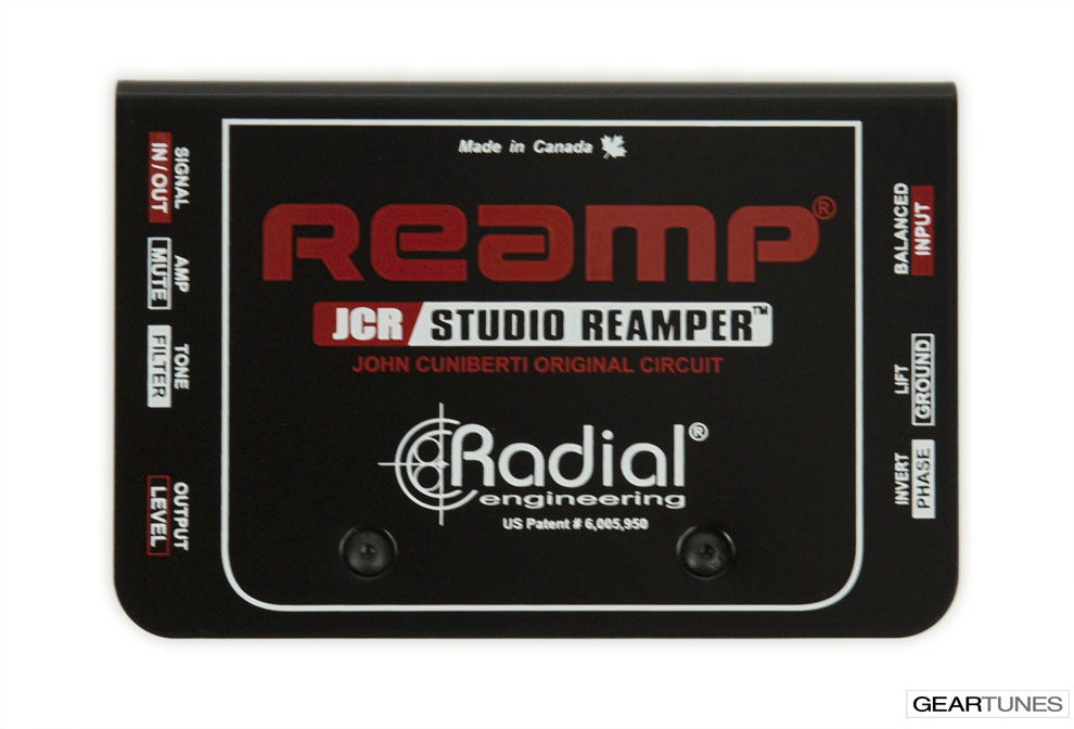 Recording Radial JCR Reamp 4