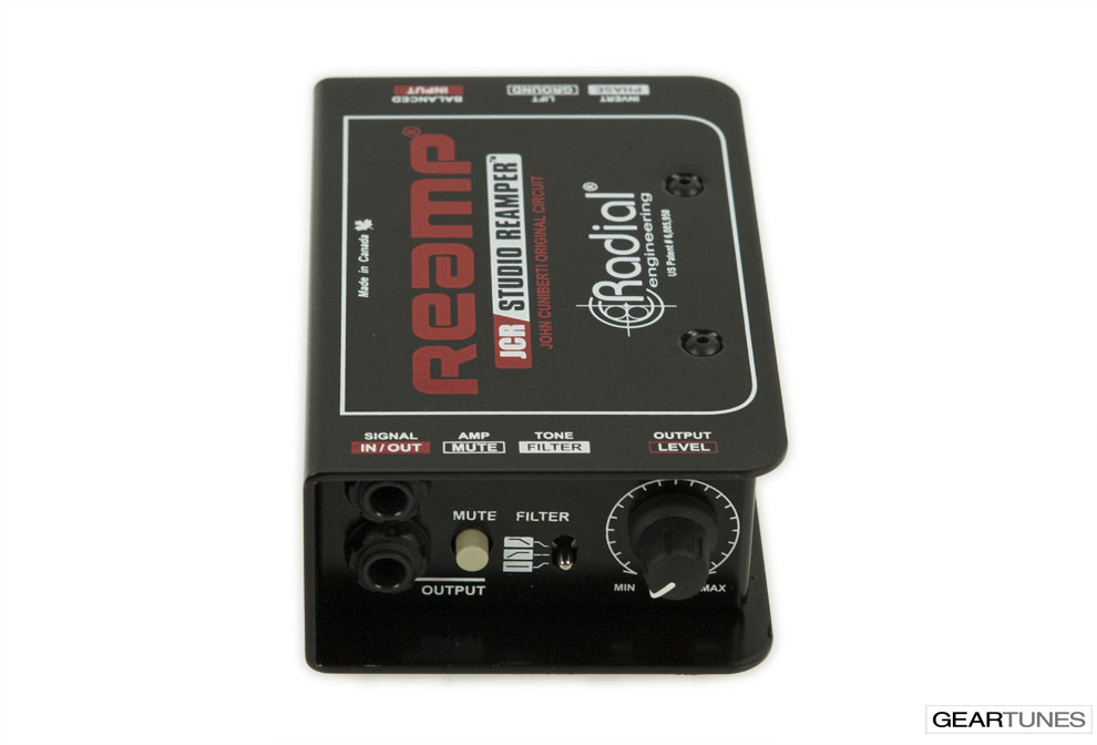 Recording Radial JCR Reamp