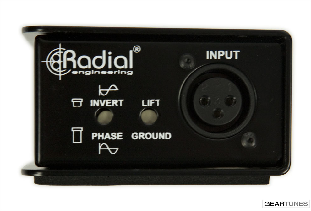 Recording Radial JCR Reamp 6