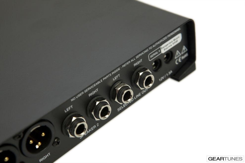 Recording Dangerous Music Source 6