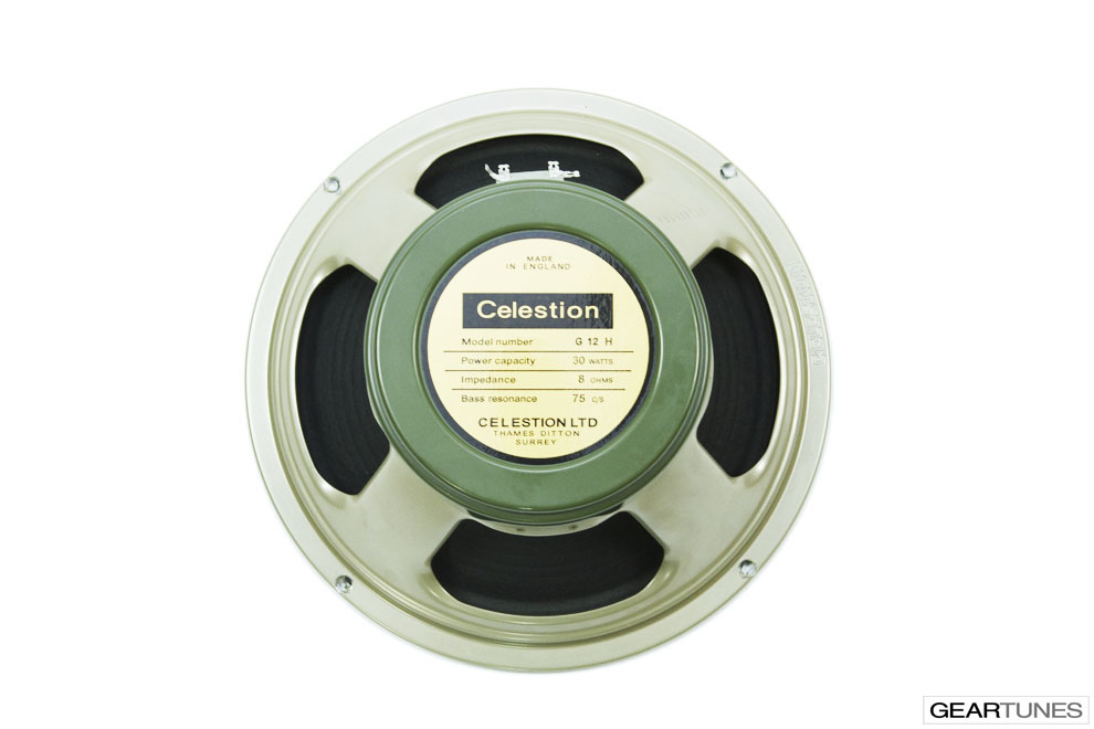 Twelve Inch Speakers Celestion Heritage Series G12H(75), 8 ohm