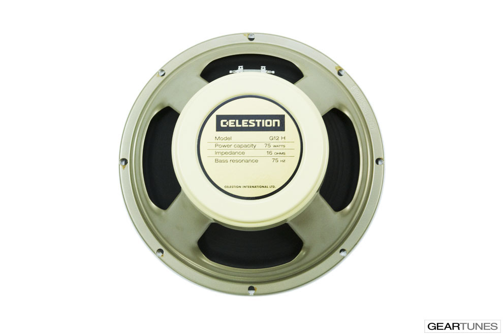 Twelve Inch Speakers Celestion G12H-75 Creamback, 16 ohm