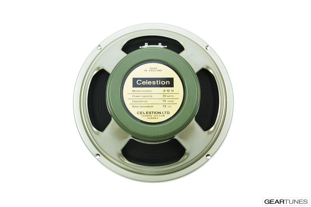 Twelve Inch Speakers Celestion Heritage Series G12H(75), 16 ohm