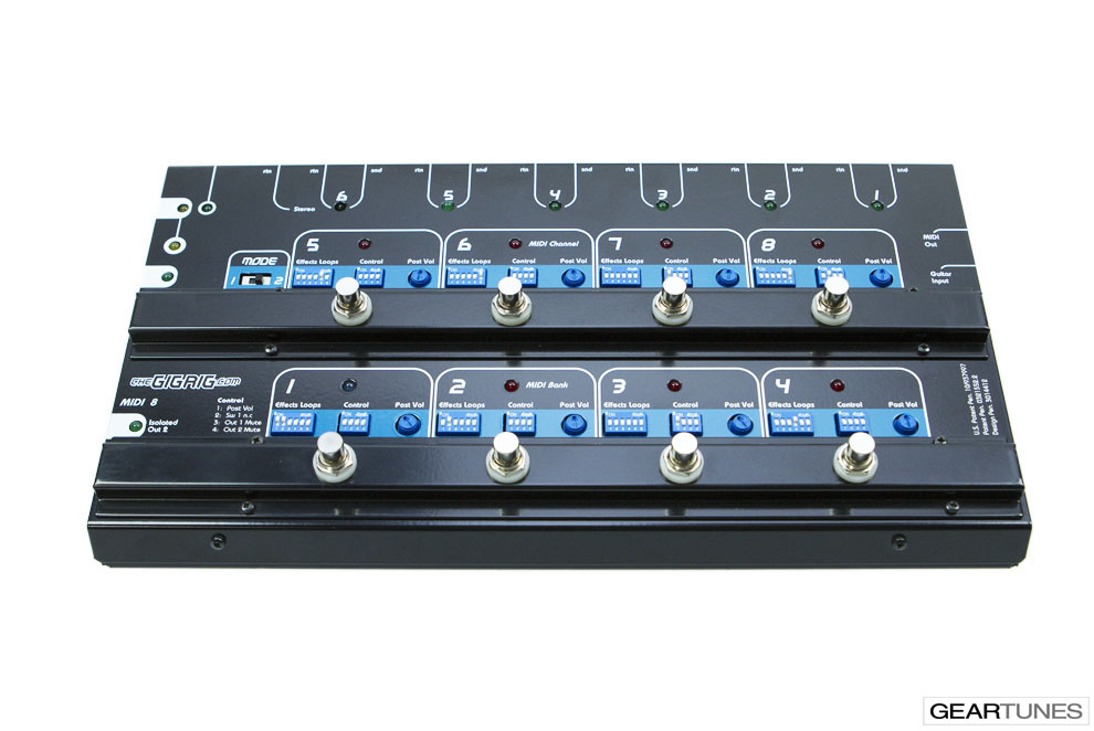Switchers and Controllers TheGigRig MIDI-8