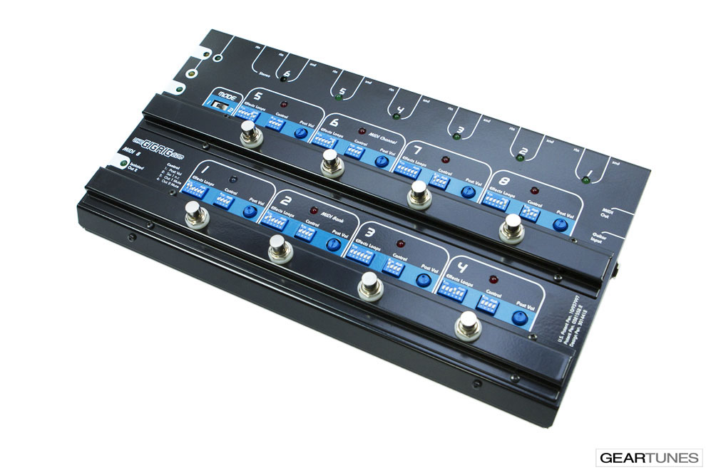 Switchers and Controllers TheGigRig MIDI-8 2