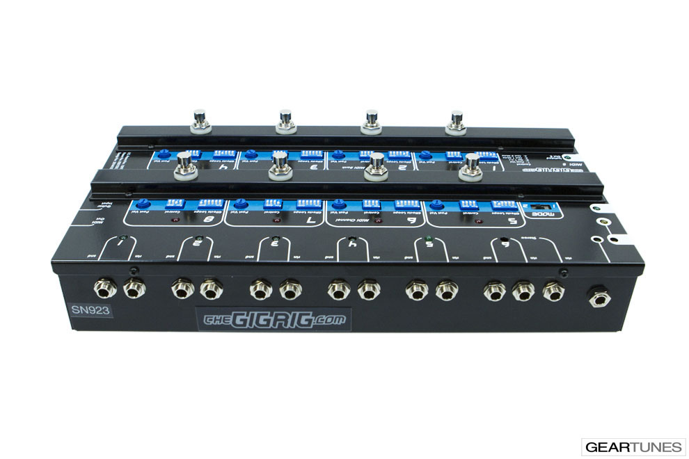 Switchers and Controllers TheGigRig MIDI-8 5