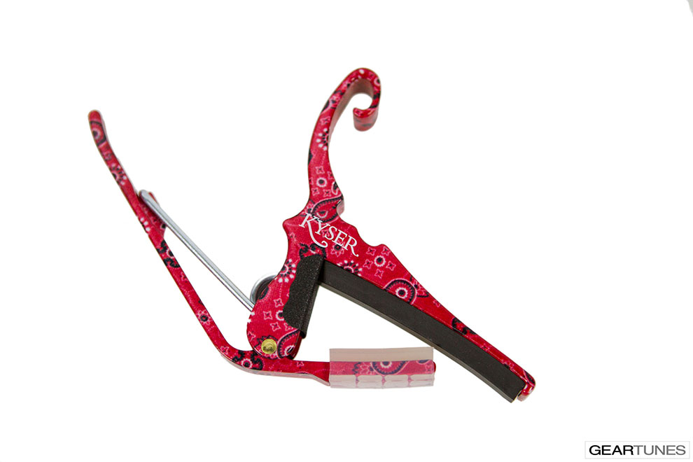 Capos Kyser Red Bandana Limited Edition Quick-Change Capo 2