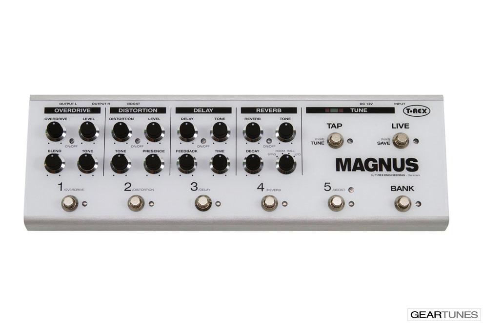 Multi-effects T-Rex Magnus