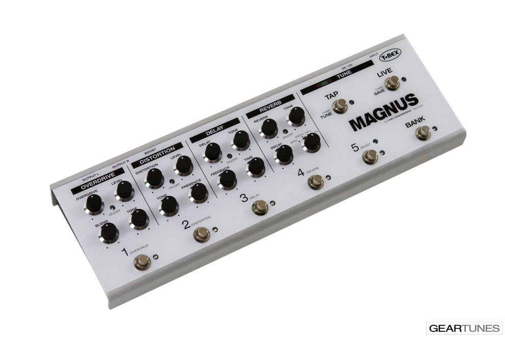 Multi-effects T-Rex Magnus 3