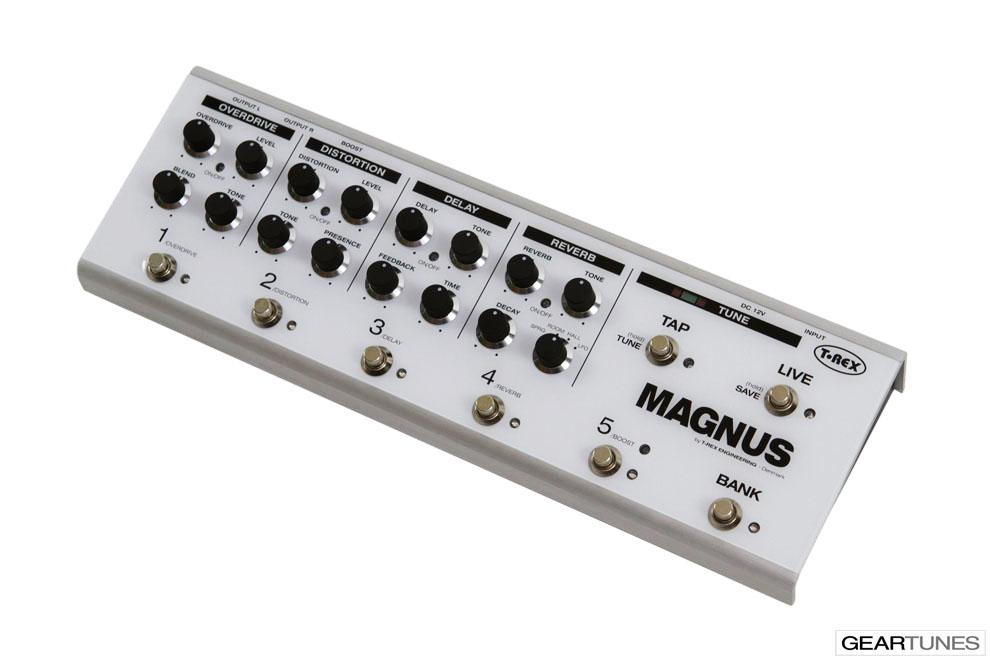Multi-effects T-Rex Magnus 2