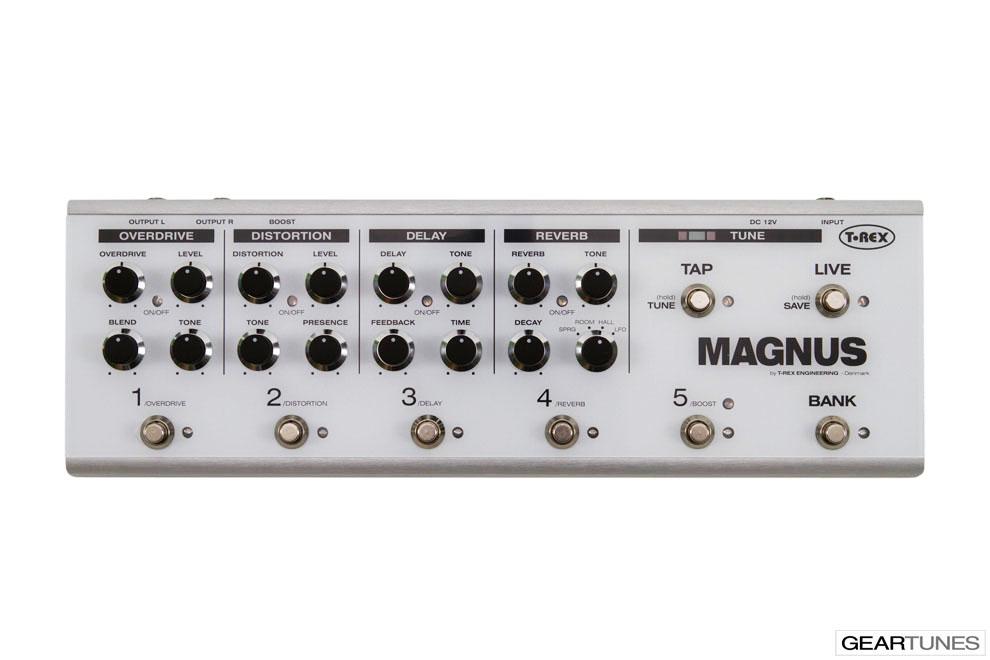 Multi-effects T-Rex Magnus 4