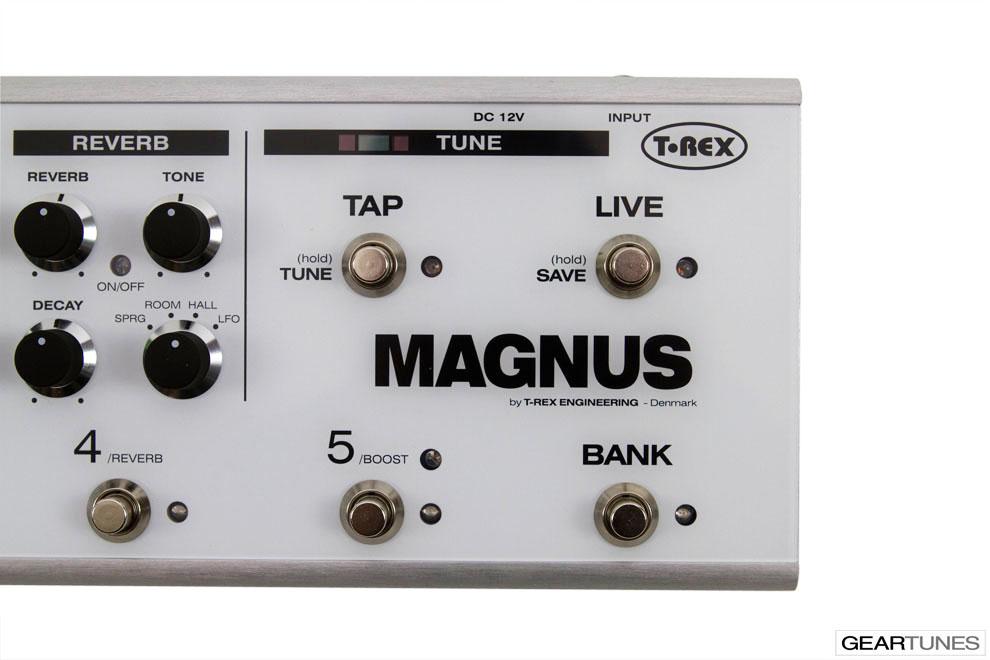 Multi-effects T-Rex Magnus 9