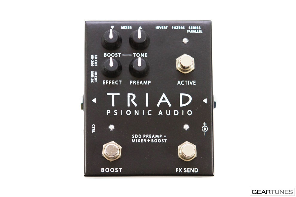 Boost and Buffer Psionic Audio Triad 4